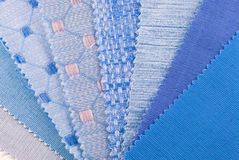 Upholstery and curtain color selection Royalty Free Stock Image