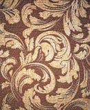 Upholstery de Brown Fotografia de Stock Royalty Free