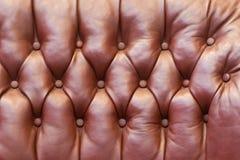 Upholstery de couro Imagem de Stock