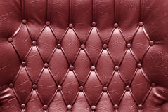 Upholstery de couro Imagens de Stock
