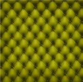 Upholstery de couro verde. Vetor. Foto de Stock