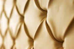 Upholstery do couro genuíno Fotografia de Stock Royalty Free