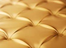 Upholstery do couro genuíno Imagens de Stock