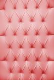 Upholstery do couro genuíno Fotografia de Stock