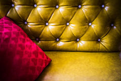 Upholstery leather Stock Photography
