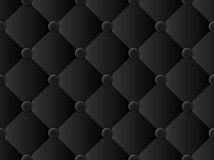 Upholstery pattern black. Upholstery black pattern vector abstract background Royalty Free Stock Image