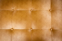 Upholstery Pattern. Close up of leather upholstery pattern Royalty Free Stock Photography