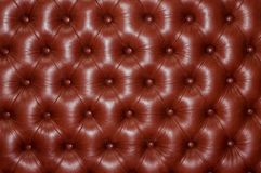 Upholstery quilted . Royalty Free Stock Photography