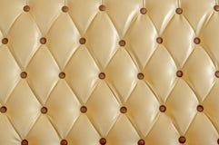 Upholsteryläder Fotografering för Bildbyråer