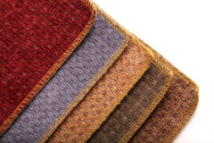Upholstrey fabric samples Royalty Free Stock Image