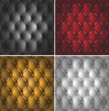Upholstry. Four different colors of upholstery Stock Photography