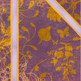 Upiększa Złocisty abstrakt Obraz Royalty Free