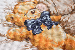 Upiększony niedźwiedź Obrazy Stock