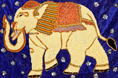 Upiększony słoń Fotografia Stock