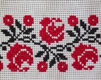 Upiększony tablecloth Zdjęcia Stock