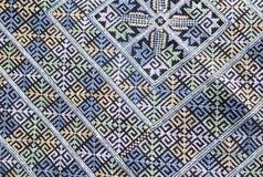 Upiększona tkaniny tekstura Fotografia Royalty Free