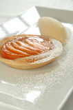upiekłam ciasto brzoskwiniowe Fotografia Stock