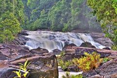 Upih Guling Wasserfall Lizenzfreie Stockfotos