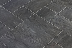 Łupkowej kamiennej tekstury winylowe podłogowe płytki Obraz Stock