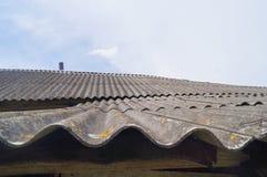 Łupkowy dach Obraz Royalty Free