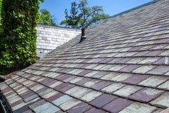 Łupkowy dach Zdjęcia Royalty Free