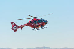 Upland Fire Department helicopter Stock Images