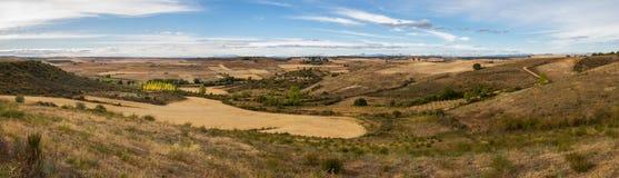 Upland Landscape Panorama Royalty Free Stock Images