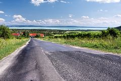 The uplands of Balaton 2 royalty free stock images