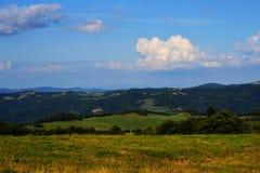 Uplands centrais de Boêmia Imagens de Stock