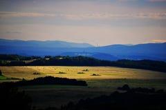 Uplands centrais de Boêmia - Teplice Fotografia de Stock
