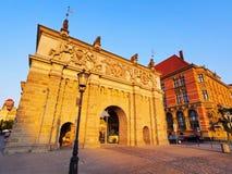 Uplands Gate, Gdansk, Poland royalty free stock photos