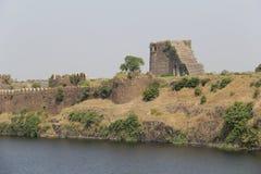 Upli Burj of fort Naldurg Stock Photo
