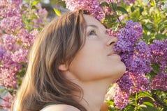 Uplifting aroma Stock Photography