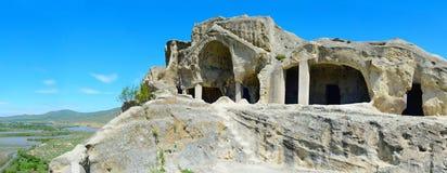 Uplistsikhe ancient city, Georgia Royalty Free Stock Photos