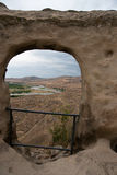 Uplistsikhe ancient rock-hewn town Royalty Free Stock Photos