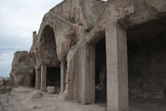 Uplistsikhe ancient rock-hewn town Royalty Free Stock Photography