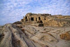 Uplistsikhe Cidade da caverna Fotos de Stock