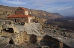 Uplistsikhe Cidade da caverna Imagens de Stock Royalty Free