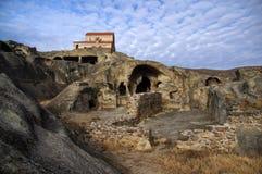 Uplistsikhe Grottastad arkivbild