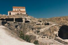 Uplistsikhe - los más viejos acuerdos urbanos de Georgia Foto de archivo