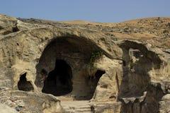 Uplistsikhe, regione di Shida Kartli, Georgia Immagine Stock