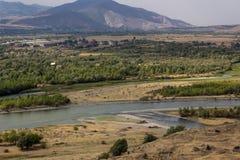 Uplistsikhe, regione di Shida Kartli, Georgia Fotografie Stock
