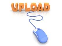 Upload. Data. 3D rendered Illustration Royalty Free Stock Image