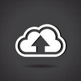 Upload alla nube Fotografia Stock Libera da Diritti