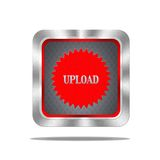 Upload button. Royalty Free Stock Image