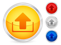 Upload button Stock Image