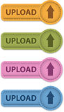Upload button Stock Photo
