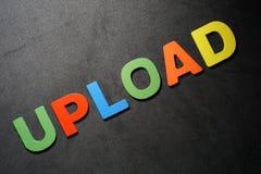 upload fotografia stock libera da diritti
