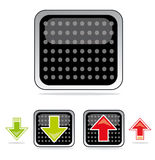 Upload & download icons Royalty Free Stock Photo