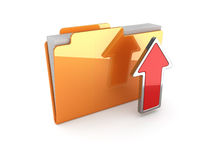 Upload folder Royalty Free Stock Photo